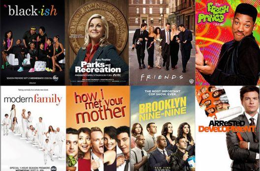 Eu amo sitcoms e aposto que você vai amar também