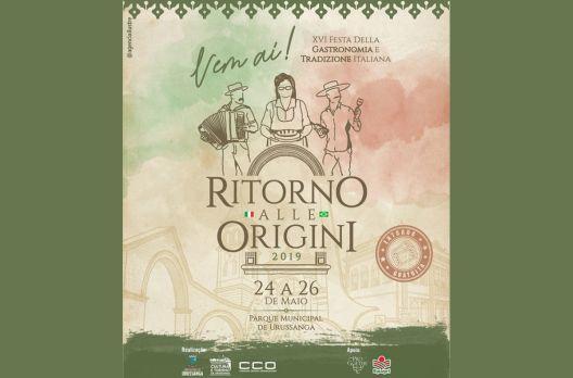 Gastronomia típica italiana é atrativo da festa Ritorno alle Origini