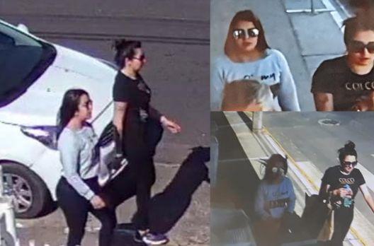 Redes sociais em Sombrio alertam a região para furtos realizados por duas mulheres