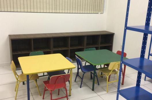 Nova biblioteca está sendo equipada em Turvo