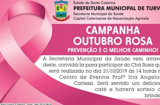 Turvo promove ação para marcar o mês de prevenção ao câncer