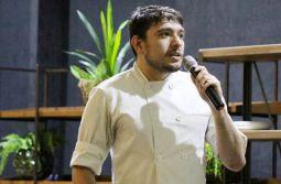 Curso de Gastronomia da Unesc traz chef Pedro Medeiros Soares para Aula Inaugural
