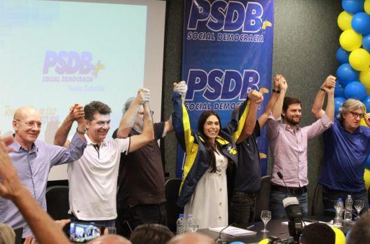 Geovania de Sá assume o PSDB/SC
