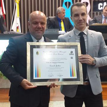Ricardo Ghelere recebe Título de Cidadão Honorário Araranguaense