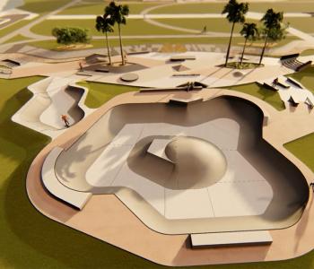 Novo Parque Centenário contará com skatepark