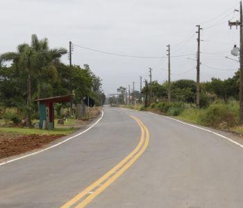 Nova etapa da pavimentação da Rodovia Francisco Ricken será entregue neste sábado