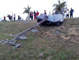 Sexta-feira (13) é marcada por acidente e afogamento em Araranguá