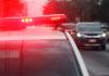 Motorista de Araranguá perde o controle da direção, sai da pista e capota veículo na Via Rápida