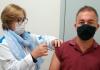 Maracajá inicia vacinação em caminhoneiros, motoristas de ônibus escolares e profissionais da limpeza urbana