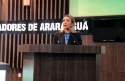 Secretária de Assistência Social visita Câmara de Araranguá