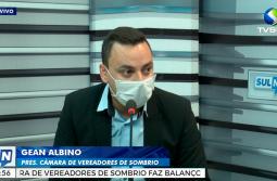 Gean Albino fala sobre os 150 dias de como presidente da Câmara de Vereadores de Sombrio