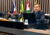 Jair Anastácio preside sessão da Câmara de Vereadores de Araranguá