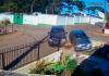 Muro de casa é atingido 2 vezes em intervalo de 4 dias após acidentes em SC; Assista vídeo