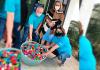 Primeira-dama de Maracajá doa cerca de 10 quilos de tampinhas para APAE