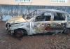 Polícia Civil investiga homem que ateou fogo no próprio carro para aplicar o golpe do seguro
