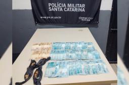Traficante é preso com crack e mais de R$ 5 mil