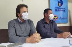 Campinho recebe o prefeito Cesar Cesa na sexta etapa do Projeto Câmara na Comunidade