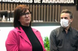 Arlete Pereira da Luz assume como vereadora em Araranguá