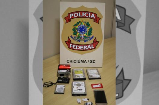 Polícia Federal realiza operação de combate à pornografia infantil em Araranguá