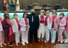 Com a presença da rede feminina, vereadores de Araranguá aprovam instituição do Outubro Rosa