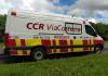 CCR ViaCosteira oferece socorro médico 24h na BR-101 Sul/SC Viaturas atuam ininterruptamente para atender os usuários e salvar vidas