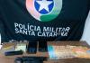 Polícia Militar prende homem armado com pistola em Balneário Gaivota