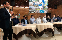 Em reunião regional Jorginho reafirma candidatura a deputado federal