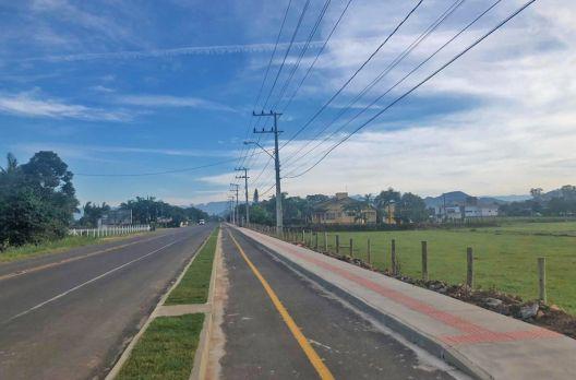Turvo é o município que mais implantou ciclovias no vale