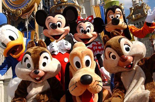 Disney em grupo adulto