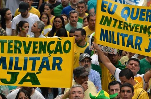 A crise da democracia representativa no Brasil.