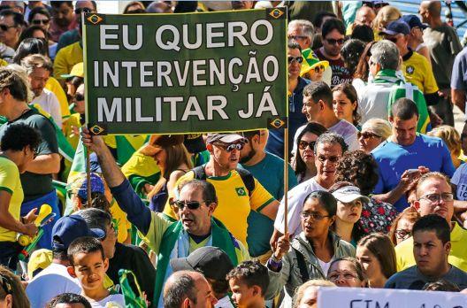 O perigo das manifestações antidemocráticas do dia 15 de Março de 2020.