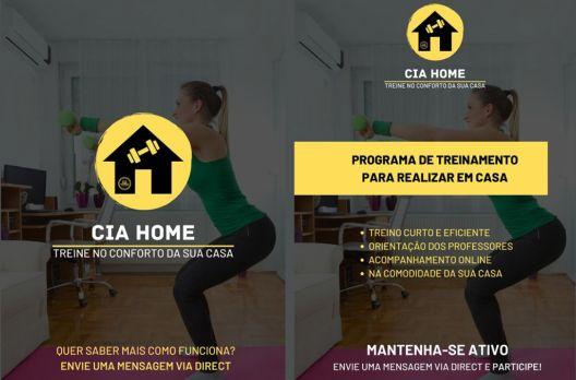 Cia do Exercício estimula treinos em casa