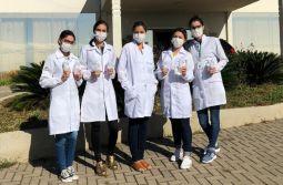 Estudantes de Enfermagem da Unesc orientam idosos da região contra coronavírus