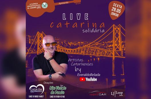 Live Catarina Solidária