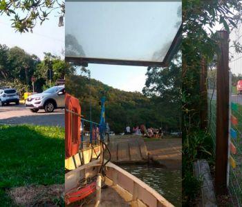 Moradores do Morro reclamam da aglomeração durante o fim de semana.