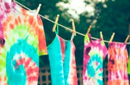 Tie Dye ou Shibori para colorir a vida