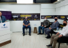 Evandro Scaini e Carlos Scarsanella participam de entrevistas e apresentam propostas