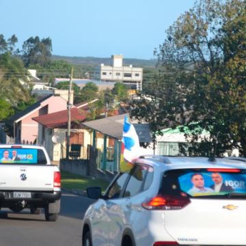 Campanha de Igor Batista e Drº. Ribeiro toma as ruas de Araranguá