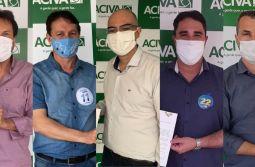 ACIVA recebe candidatos a Prefeito de Araranguá