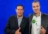 Ricardo Ghelere vai a Brasília e recebe apoio do Vice-Presidente Hamilton Mourão