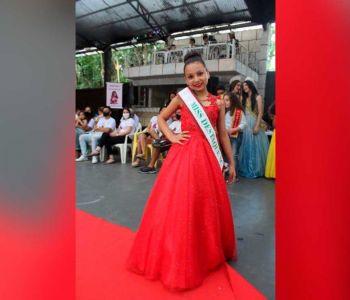 Larissa de Souza, moradora de Turvo, é a vice miss Santa Catarina