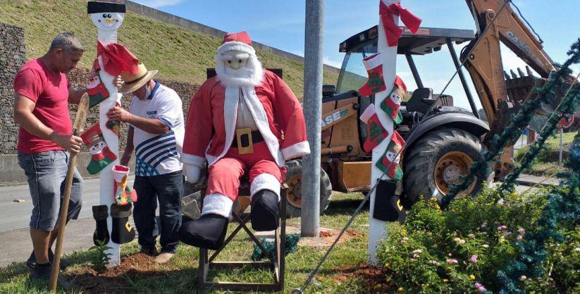Luzes de Natal serão acendidas neste sábado em Maracajá
