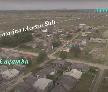 Prefeito Mineiro e Deputada Geovania de Sá entregam Ordem de Serviço para asfalto na Praia da Caçamba