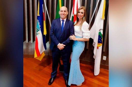 Cristiane Machado, a elegante esposa de Diego Pires