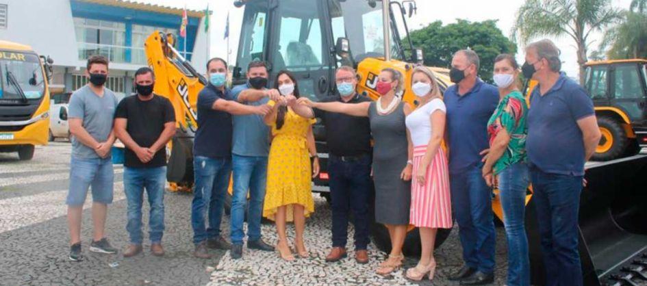 A deputada federal Geovania de Sá (PSDB) passou por Meleir...