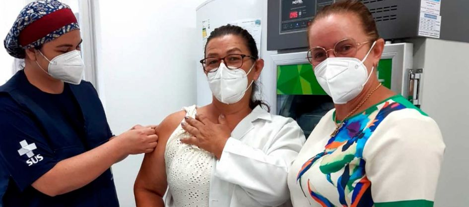 Técnica de Enfermagem que atua no Cemasas é a primeira a ...