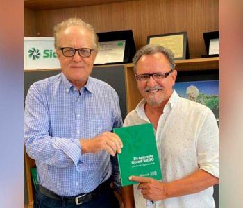 Presidente da Sicredi recebe presidente da CDL Araranguá
