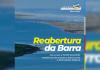 Barra do rio Araranguá se mantém fechado