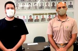 Samuca Nunes elogia Polícia Militar e pede maior respaldo do poder público para a corpor...
