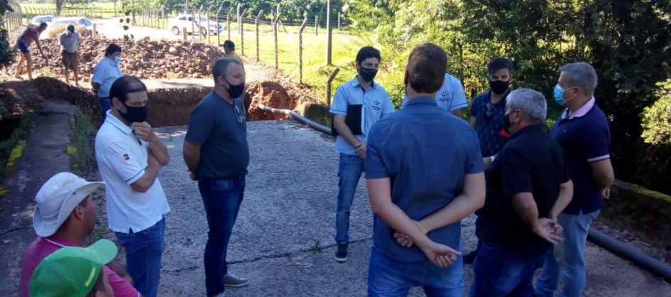 Agendada reunião sobre ponte desabada no limite entre Turv...